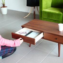 ローテーブル90木製引き出し収納日本製カフェ北欧ホワイト白コーヒーテーブル引き出し付きリビングaster900完成品カントリー長方形ブラウンナチュラルセンターテーブル食卓引出しレトロおしゃれ国産送料無料送料込一人暮らし