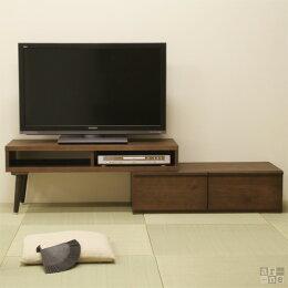テレビ台テレビボードローボードスライド40インチ32インチコーナー用日本製伸縮完成品ウォールナット42インチ収納32型42型100150170cmシンプル和室おしゃれナチュラル木製ミッドセンチュリーロータイプ送料無料