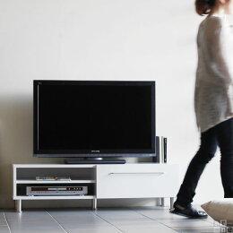 テレビ台日本製120引き出し120cmローボードモダンテレビラック木製ホワイトテレビボード完成品32型シンプル収納ロータイプ42インチavラックAV収納TVボードTV台avボード国産白おしゃれ激安SP-001TVアーネarne一人暮らし
