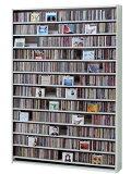 収納ラック CDラック cd収納 棚 DVDラック ホワイト 白 CD DVD 収納 ラック 大型 CD収納ラック CD収納棚 cd収納 dvd収納ラック CDストッカー DVD