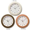 掛け時計 レムノス スイープムーブメント 寝室 壁 ガラス 時計 連続秒針 スイープ 音がしない 掛