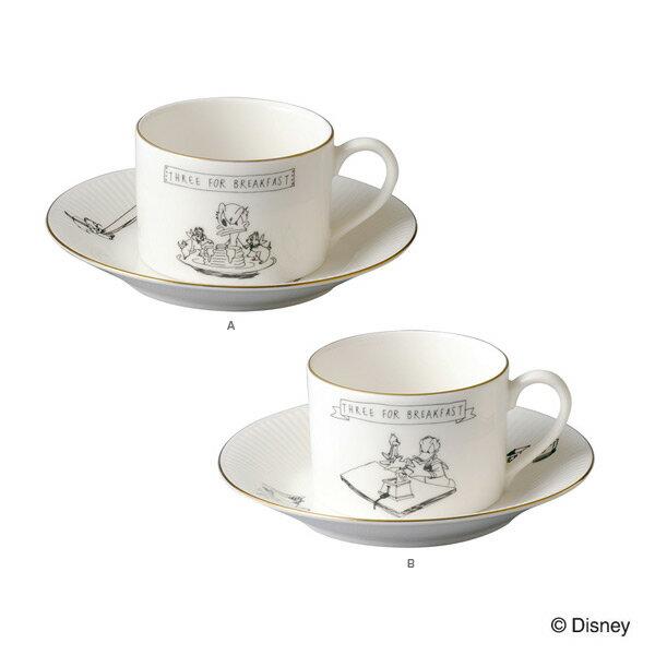 カップ ソーサー 食器セット セット 白 洋食器 コーヒーカップ モノクロ ドナルドダック…...:arne-style:10040296