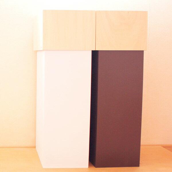 ダストボックス スリム ゴミ箱 おしゃれ 角型 木製 大容量 木製 ごみ箱 北欧 30L リビング ダイニング キッチン インテリア 雑貨 屑箱 くず入れ くずかご ダストbox デザイン サイズ ごみばこ プレゼント オフィス シンプル YK15-011 W CUBE 30 ホ���イト/ブラウン