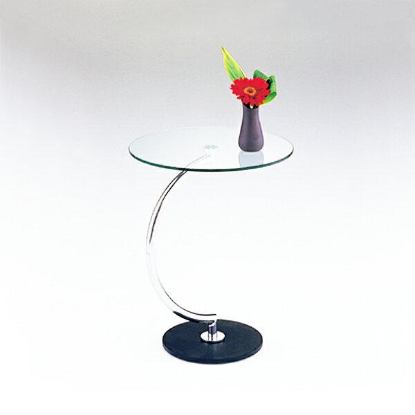 ガラステーブル 丸 サイドテーブル ベッドテーブル 円形 モダン ガラス テーブル おしゃれ ベッドサイドテーブル ラウンドテーブル ガラスサイドテーブル ベッド サイド テーブル 直径46cm 天板 丸型 シンプル デザイン ナイトテーブル ミニテーブル 丸 インテリア