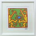 アートパネル キースへリング ポスター おしゃれ キース・ヘリング 絵画 壁掛け IKH-60575 Keith Haring Untitled
