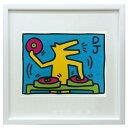 アートパネル キースへリング ポスター おしゃれ キース・ヘリング 絵画 壁掛け IKH-60644 Keith Haring Untitled