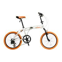折り畳み自転車215 Barbarous DOPPELGANGER ドッペルギャンガー アルミフレーム 送料無料の画像