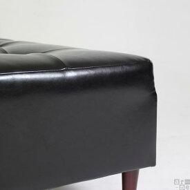 ソファベンチベンチソファー背もたれなしソファベンチソファーベンチソファーベンチソファ待合室椅子ロビーベンチロビーチェア合皮レザーレッド赤ブラック黒スツール日本製インテリアおしゃれ送料無料BaggyCube5×5