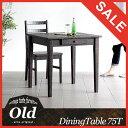 ダイニングテーブル アジアン 引き出し コンパクト 食卓テーブル 2人用 センターテーブル 正方形 無垢 パイン材 カントリー 木製 北欧 おしゃれ カフェテーブル