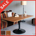 RoomClip商品情報 - ダイニングテーブル ソファテーブル 幅120 北欧 センターテーブル ウォールナット 一人暮らし 高級感 リビング テーブル 高さ60 リビングテーブル 長方形 ローテーブル 木製 おしゃれ カフェテーブル 1本脚 応接テーブル パソコンテーブル コンパクト 送料無料 UT4-1200H