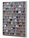CDラック スリム 大容量 おしゃれ ラック CD 収納 dvd収納ラック ディスプレー 棚 通販 cd収納ラック cd収納棚 cdボックス 薄型 DVDラ..