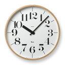 掛け時計 壁掛け時計 見やすい アナログ 時計 壁掛け 壁時計 掛時計 おしゃれ シンプル リキクロック RIKI CLOCK WR-0401 L ウォールクロック クロック デザイン時計 リビング ダイニング カフェ オフィス 北欧 モダン ナチュラル デザイナーズ 渡辺 力 Lemnos レムノス