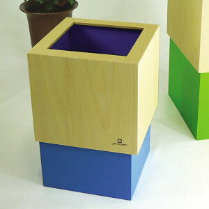 ゴミ箱 木製 おしゃれ 四角 ダストボックス ごみばこ ごみ箱 カフェスタイル 角型 卓上ゴミ箱 かわいい くず入れ くずかご ダストbox リビング オフィス カフェ 洗面所 トイレ 北欧 日本製 W CUBE M Yamato Japan ヤマト工芸