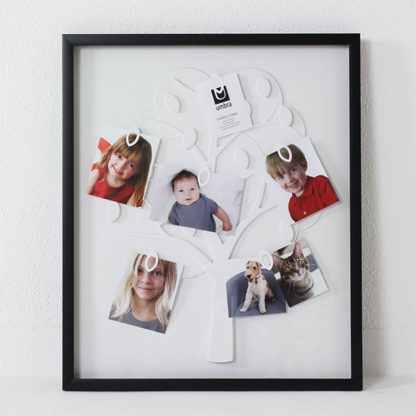 Very Simple Design For Family Tree Wall Frame Without Branch For