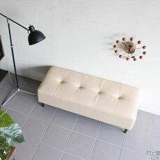 ソファーベンチベンチおしゃれ日本製バギーレクタングルBaggyRG2×5合皮ダークブラウン/アイボリー/レッドアーネオリジナル送料無料
