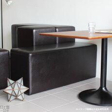 スツールキューブ四角スクエア椅子イスベンチソファソファーチェアシンプル腰掛け背もたれなし送料無料Cube'sL100ファブリック