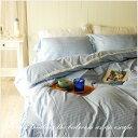 イノセントブルーレース ベッドカバー4点セット/キング(ベッドスプレッド)マルチカバー+2ピローケース+ベッドスカート |布団カバー 北欧 キングサイズ スカー...
