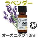 ラベンダー オーガニック 10ml アロマオイル エッセンシャルオイル 精油 【02P01Oct16】