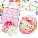 母の日 プレゼント 実用的 サンクスオーバルギフト ローズ セット 入浴剤 ミニタオル バスフラワー Days in Bloom