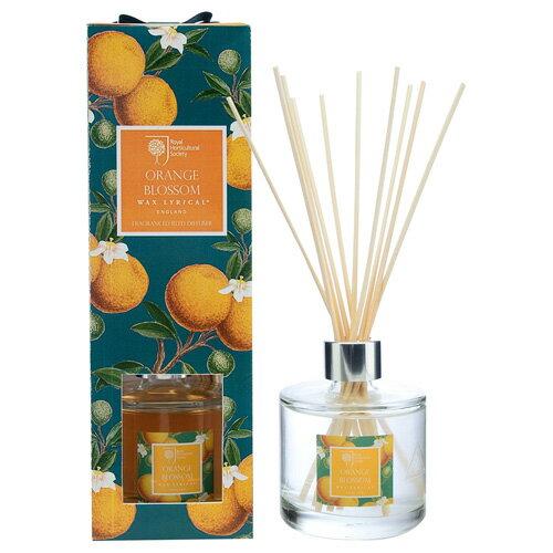 WAX LYRICAL RHS リードディフューザー 200ml オレンジブロッサム Orange Blossam RHS Fragrant Garden フローレントガーデン ワックスリリカル◆ルームフレグランス/フレグランススティック