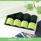 【】 人気のエッセンシャルオイル(精油)×4種セット 『Organic オーガニック』 |【アロマオイル】【エッセンシャルオイル】【精油】【セット】【アロマテラピー】【メール便不可】