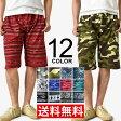 ハーフパンツ メンズ ショートパンツ ミニ裏毛 ネイティブプリント メール便送料無料《M2》【2-T11A】