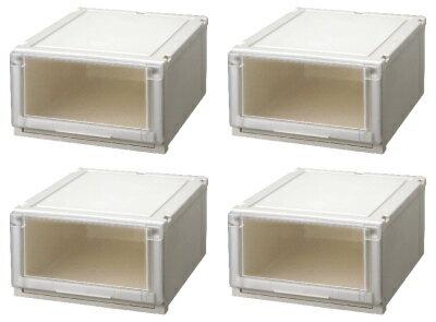 天馬 (Fits)フィッツユニットケース4525お買い得『4個セット』新しい発想と知恵が、「収納ケース」を一新しました。