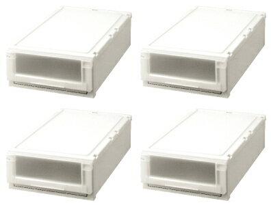 天馬 (Fits)フィッツユニットケース(L)3918お買い得『4個セット』新しい発想と知恵が、「収納ケース」を一新しました。奥行74cm(L)シリーズ。