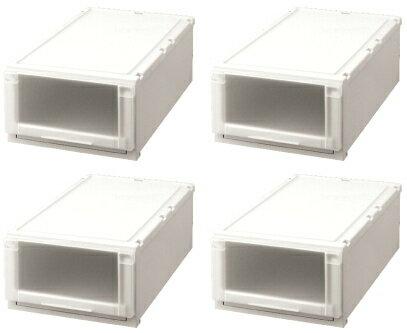 天馬 (Fits)フィッツユニットケース(L)3923お買い得『4個セット』新しい発想と知恵が、「収納ケース」を一新しました。奥行74cm(L)シリーズ。