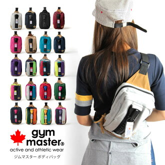 gym master (gym master) メガジップ body bag ビッグジップ one-shoulder shoulder bags mens Womens