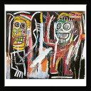 アートパネル アートポスター 絵画 インテリア ポスター タペストリー 壁掛け アートフレーム ウォールアート アートボード ポップアート モノトーン モノクロ デザイナーズ アンティーク シンプル モダン 北欧 おしゃれジャン ミシェル バスキア Dustheads