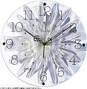 壁掛け時計 掛け時計 ウォールクロック TICKAWAY アートフラワークロック 電波時計ではありません おしゃれ シンプル 北欧 木製 かわいい 造花 デザイナーズ アンティーク モダン インテリア 高級 贈答品 新築祝い