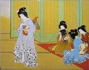 漆絵 上村松園の名作「舞仕度」