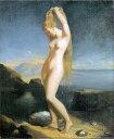 美術, 美術品, 古董, 民間工藝品 - 油絵 Theodore Chasseriauの名作_海より出づるビーナス