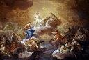 油絵 コッラード・ジアキントの名作_聖なる三位一体と聖母と聖人たち