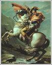 【送料無料】絵画:ルイ・ダヴィッド「サン・ベルナール峠のナポレオン」●サイズF8(45.5×38