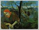 【送料無料】絵画:ポール・ゴーギャン「オリーブ山のキリスト」●サイズF12(60.6×50.0cm)●