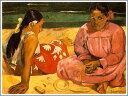 【送料無料】絵画:ポール・ゴーギャン「タヒチの女」●サイズF15(65.2×53.0cm)●プレゼン