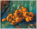 複製画 送料無料 プレミアム 学割 絵画 油彩画 油絵 複製画 模写フィンセント・ファン・ゴッホ「洋梨のある静物」 F10(53.0×45.5cm)サイズ プレゼント ギフト 贈り物 名画 オーダーメイド 額付き