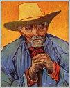 【送料無料】絵画:フィンセント・ファン・ゴッホ「パシアンス・エスカリエの肖像」●サイズF12(60.6×50.0cm)●プレゼント・ギフト・風水にも人気な名画の絵画(油絵複製画)オーダーメイド制作◆無料で選べる額縁付き!◆:油彩画