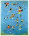 【送料無料】絵画:ワシリー・カンディンスキー「空色」●サイズF8(45.5×38.0cm)●プレゼント