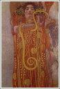 【送料無料】絵画:グスタフ・クリムト「ヒュギエイア」●サイズF12(60.6×50.0cm)●プレゼン