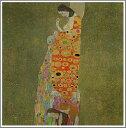 【送料無料】絵画:グスタフ・クリムト「希望2」●サイズF10(53.0×45.5cm)●プレゼント・ギフ