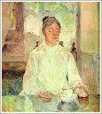 【送料無料】絵画:ロートレック「朝食をとるロートレックの母」...