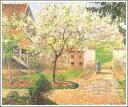 【送料無料】絵画:カミーユ・ピサロ「エラニーのすももの木」●サイズF12(60.6×50.0cm)●プ