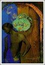 【送料無料】絵画:オディロン・ルドン「聖ヨハネ」●サイズF15(65.2×53.0cm)●プレゼント・
