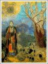 【送料無料】絵画:オディロン・ルドン「仏陀」●サイズF12(60.6×50.0cm)●プレゼント・ギフ
