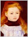 複製画 送料無料 プレミアム 学割 絵画 油彩画 油絵 複製画 模写 ルノアール(ルノワール)「白いエプロンの少女」 F6(41.0×31.8cm)サイズ プレゼント ギフト 贈り物 名画 オーダーメイド 額付き