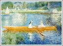 複製画 送料無料 プレミアム 学割 絵画 油彩画 油絵 複製画 模写ルノアール(ルノワール)「アニエールのセーヌ河」 F12(60.6×50.0cm)サイズ プレゼント ギフト 贈り物 名画 オーダーメイド 額付き