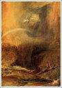 複製画 送料無料 プレミアム 学割 絵画 油彩画 油絵 複製画 模写ウィリアム・ターナー「悪魔の橋、サン・ゴタール」 F8(45.5×38.0cm) サイズ プレゼント ギフト 贈り物 名画 オーダーメイド 額付き